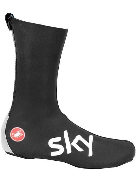 Castelli Team Sky Diluvio Pro 2 Shoecover black